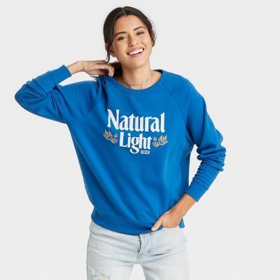 Women's Natural Light Graphic Sweatshirt - Royal Blue