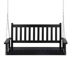 Maine Hardwood Porch Swing - Shine Company Inc.