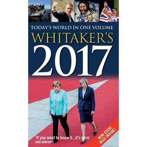 Whitaker's 2017 (Hardcover) - image 1 of 1