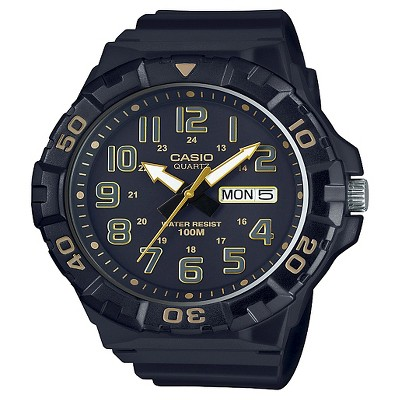 Men's Casio Analog Digital Watch - Black