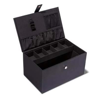 Sonia Kashuk™ Hard Top Makeup Storage Train Case  Black