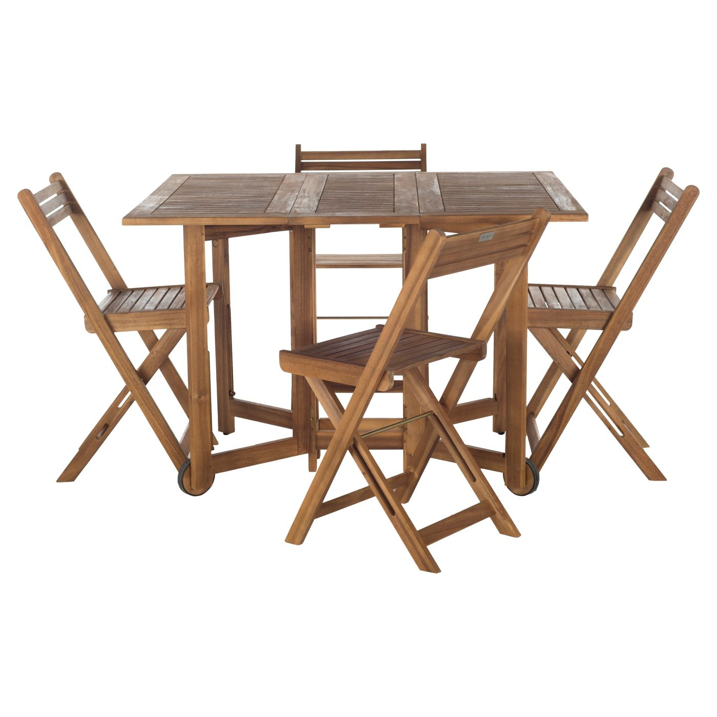5-Piece Safavieh Arvin Outdoor Living Collection Dining Set