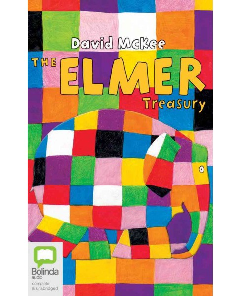 Elmer Treasury (Unabridged) (CD/Spoken Word) (David McKee) - image 1 of 1