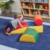 ECR4Kids SoftZone Climb and Crawl Activity Play Set–Lightweight Foam Shapes for Toddlers, 5 pc - image 2 of 4