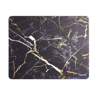 Insten Ultra Thin Mouse Pad Reflective Non Slip Marble Mouse Pad Mat