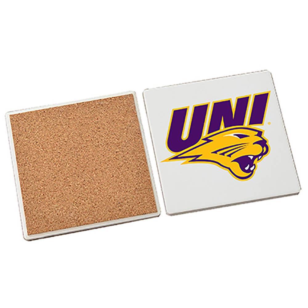 NCAA Northern Iowa Panthers Stone Coasters