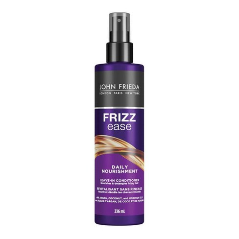 Frizz Ease John Frieda Daily Nourishment Leave-in Conditioner for Frizz-prone Hair - 8 fl oz - image 1 of 4