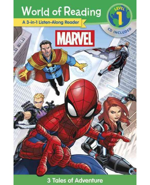 Marvel A 3-1 Listen-Along Reader : This is Spider-Man / This Is Doctor Strange / The New Team - image 1 of 1