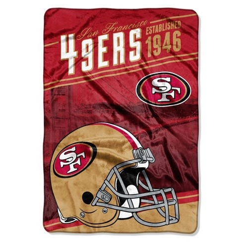 ef3fb109c NFL Northwest Stagger Micro Fleece Blanket Throw