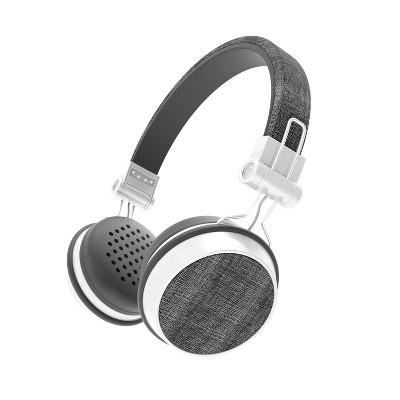 Sharper Image Fabric Wireless Headphones Black Sbt666bk Target