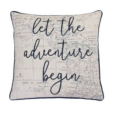 Lariss Adventure Oversize Square Throw Pillow - Décor Therapy