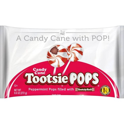Tootsie Roll Holiday Candy Cane Tootsie Pops - 9.6oz - image 1 of 3