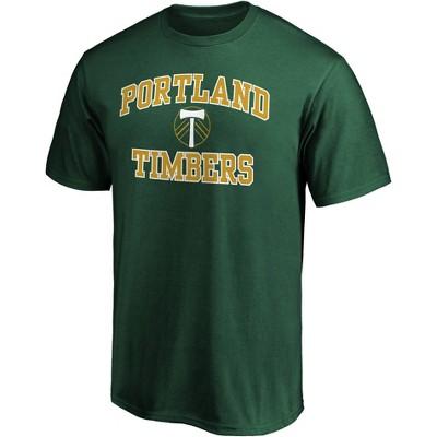 MLS Portland Timbers Men's Short Sleeve Crew Neck Core T-Shirt