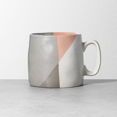 Refined Stoneware Mug Gray / Copper - Hearth & Hand™ with Magnolia