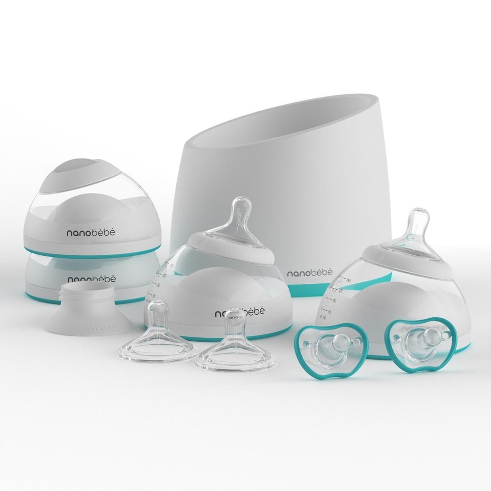 Nanobebe Starter Kit - Teal (Blue)
