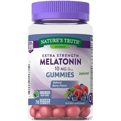 Nature's Truth Melatonin 10mg Gummies - 70ct
