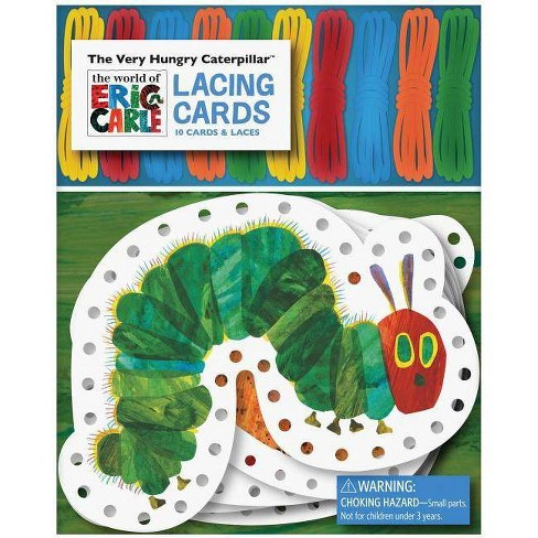 0827e9658 The World of Eric Carle(tm) the Very Hungry Caterpillar(tm) Lacing Cards -  (Mixed media product)