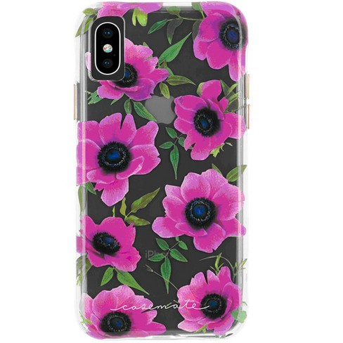 Case Mate Iphone Xs Max Wallpapers Pink Poppy Dot Case