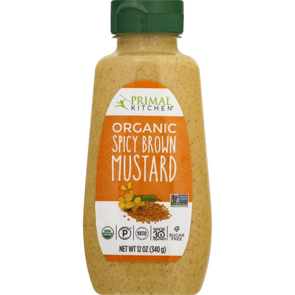 Primal Kitchen Organic Spicy Brown Mustard 12oz
