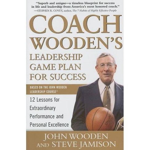 Coach Wooden's Leadership Game Plan for Success: 12 Lessons for Extraordinary Performance and Personal - image 1 of 1