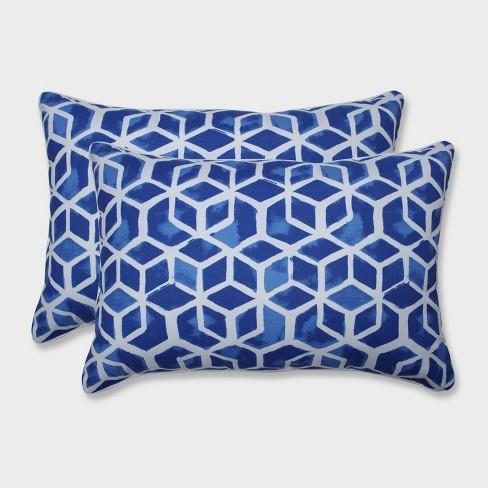 2pk Oversize Celtic Admiral Rectangular Throw Pillows Blue - Pillow Perfect - image 1 of 1
