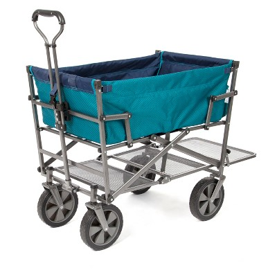 Mac Sports Double Decker Wagon - Teal