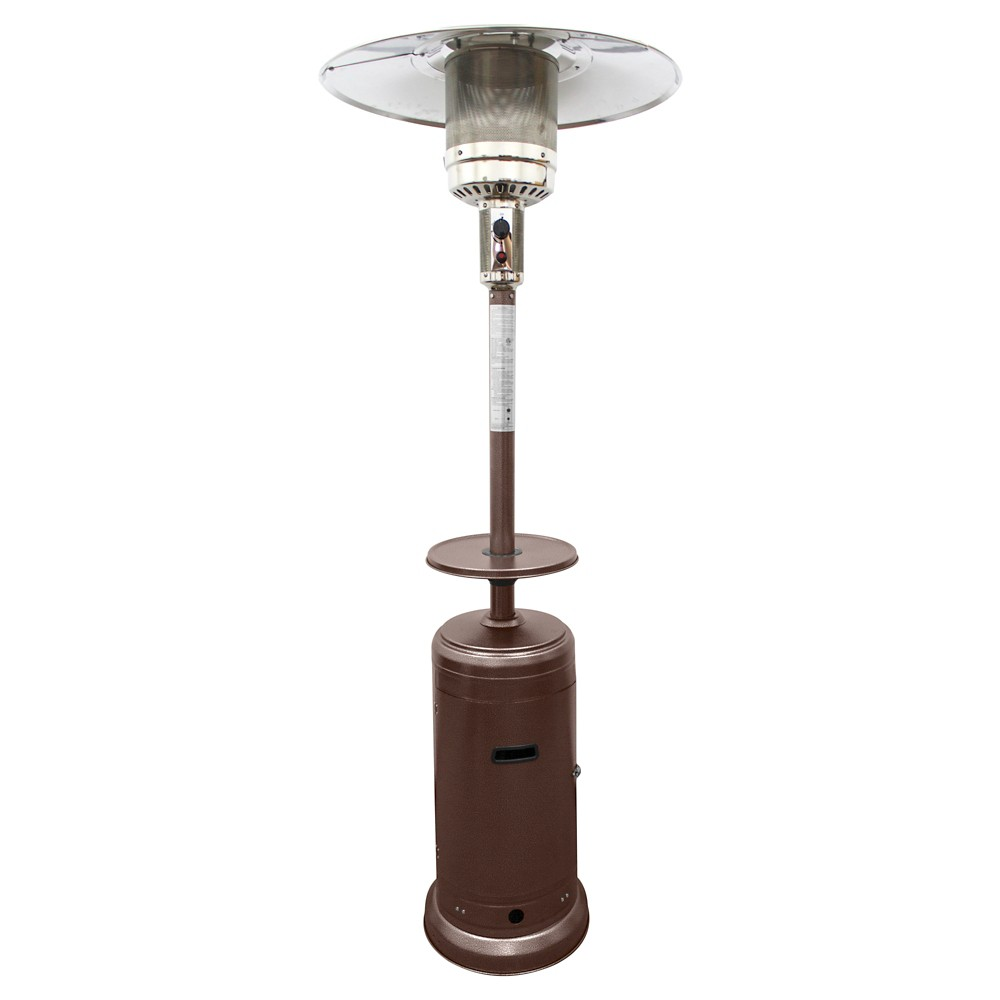 Image of AZ Patio Heaters Hammered Patio Heater - Bronze, Espresso Brown