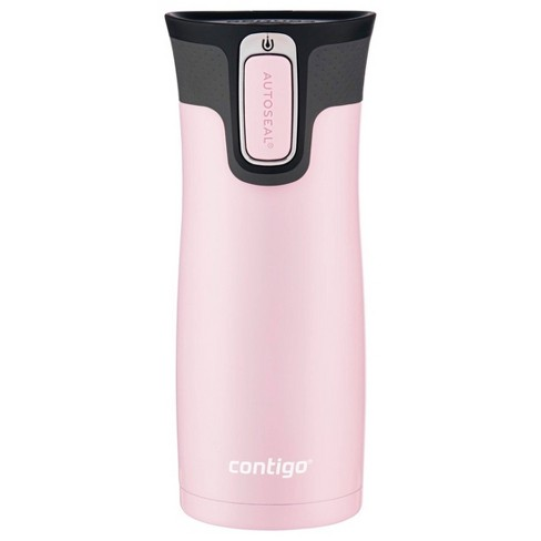 Contigo 16oz Stainless Steel AUTOSEAL West Loop Travel Mug Millennial Pink - image 1 of 4