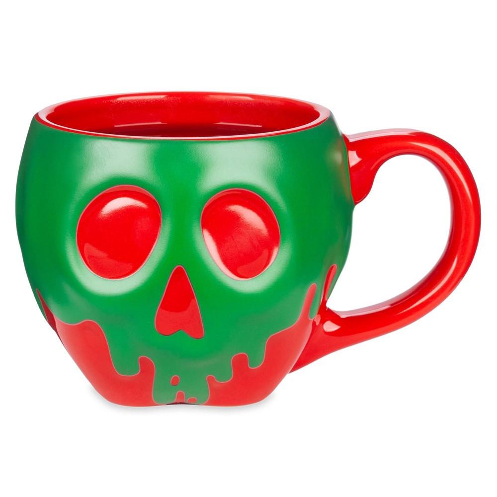 Image of Disney 13oz Ceramic Poison Apple Color Change Mug - Disney Store