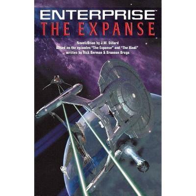 The Star Trek - (Star Trek: Enterprise) by  J M Dillard (Paperback)