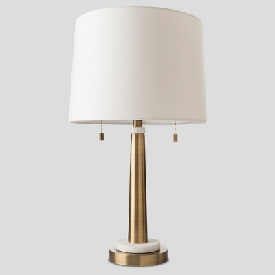 Franklin Table Lamp Brass Lamp Only - Threshold™