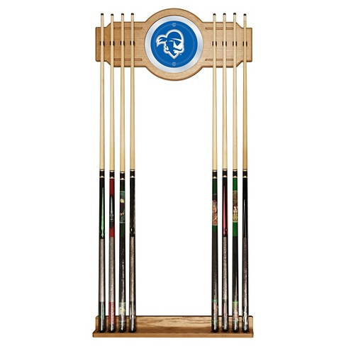NCAA Seton Hall Pirates Wood & Mirror Wall Cue Rack 2pc - image 1 of 1