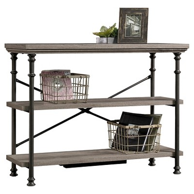 Canal Street Anywhere Console Table with 2 Shelves - Northern Oak - Sauder