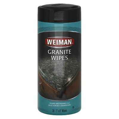Weiman Granite Wipes - 30ct