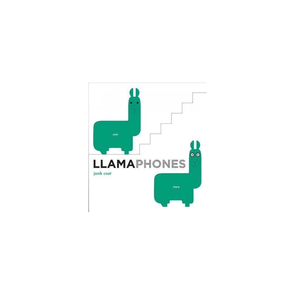 Llamaphones - Brdbk by Janik Coat (Hardcover)