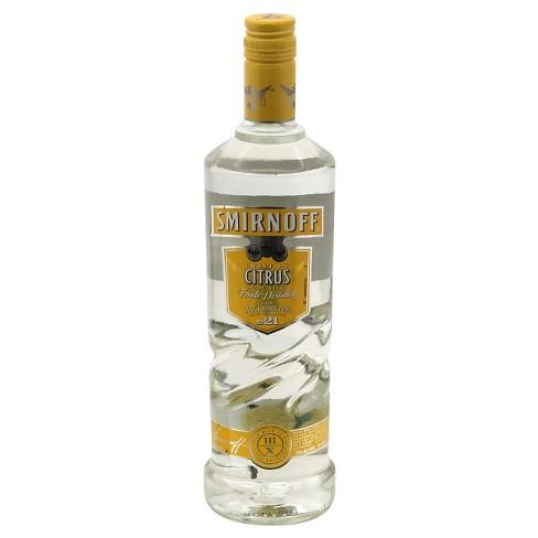 Smirnoff® Citrus Vodka - 750mL Bottle - image 1 of 1