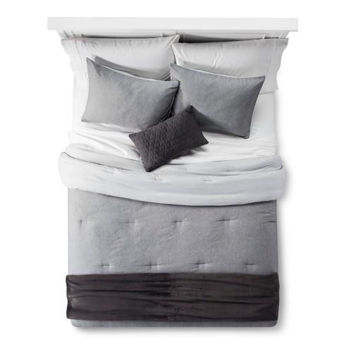 Gray Heather Comforter Set Room Essentials Target
