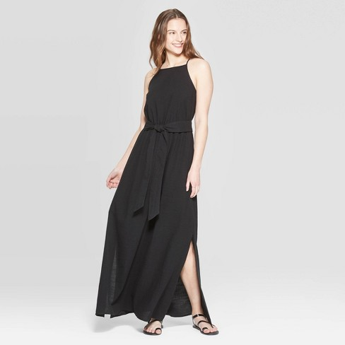 Women's Sleeveless High Neck Maxi Dress -Universal Thread™ - image 1 of 3