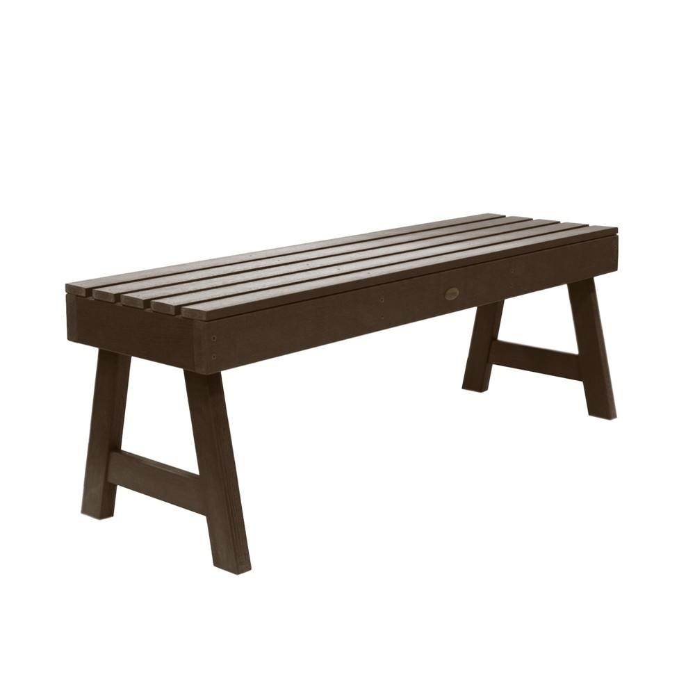 Weatherly Picnic Bench 4ft Weathered Acorn - Highwood