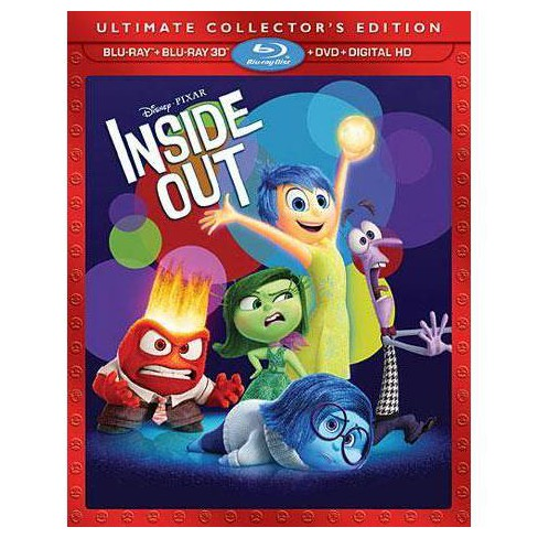 Inside Out [3D] [Includes Digital Copy] [Blu-ray/DVD]