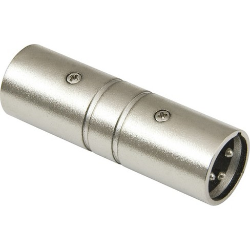 American Recorder Technologies XLR Male to XLR Male Adapter Nickel - image 1 of 1