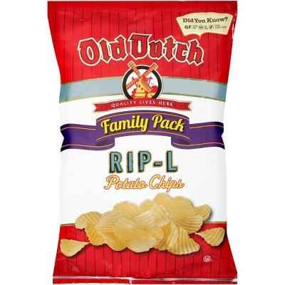 Old Dutch Family Pack Rip-L Potato Chip 10oz