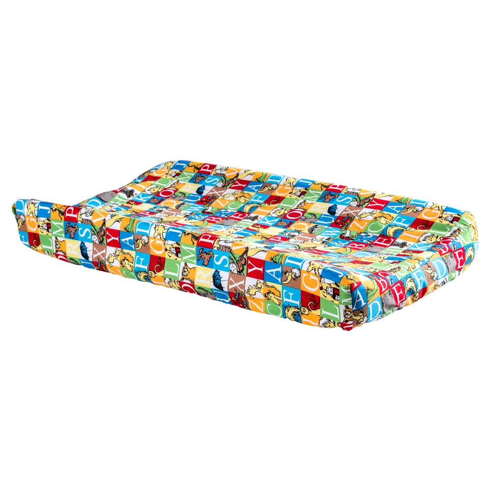 Dr Seuss By Trend Lab Alphabet Seuss Changing Pad Cover