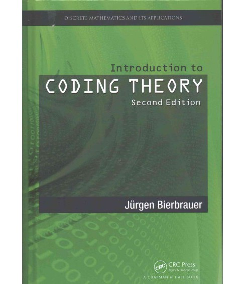 Introduction to Coding Theory (Hardcover) (Jurgen Bierbrauer) - image 1 of 1
