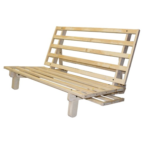Austin All Wood Sit Lounge Or Sleep Futon Frame N