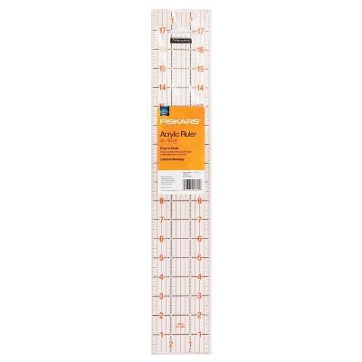 Fiskars 18'' Acrylic Ruler