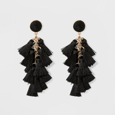 view SUGARFIX by BaubleBar Multi-Tassel Drop Earrings on target.com. Opens in a new tab.