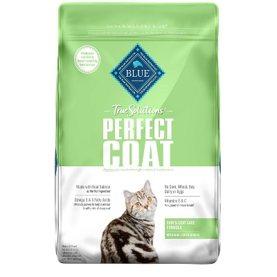 Blue Buffalo True Solutions Perfect Coat Skin and Coat Care Adult Dry Cat Food