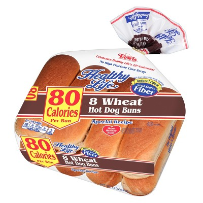 Healthy Life Wheat Hot Dog Buns 12oz 8ct Target
