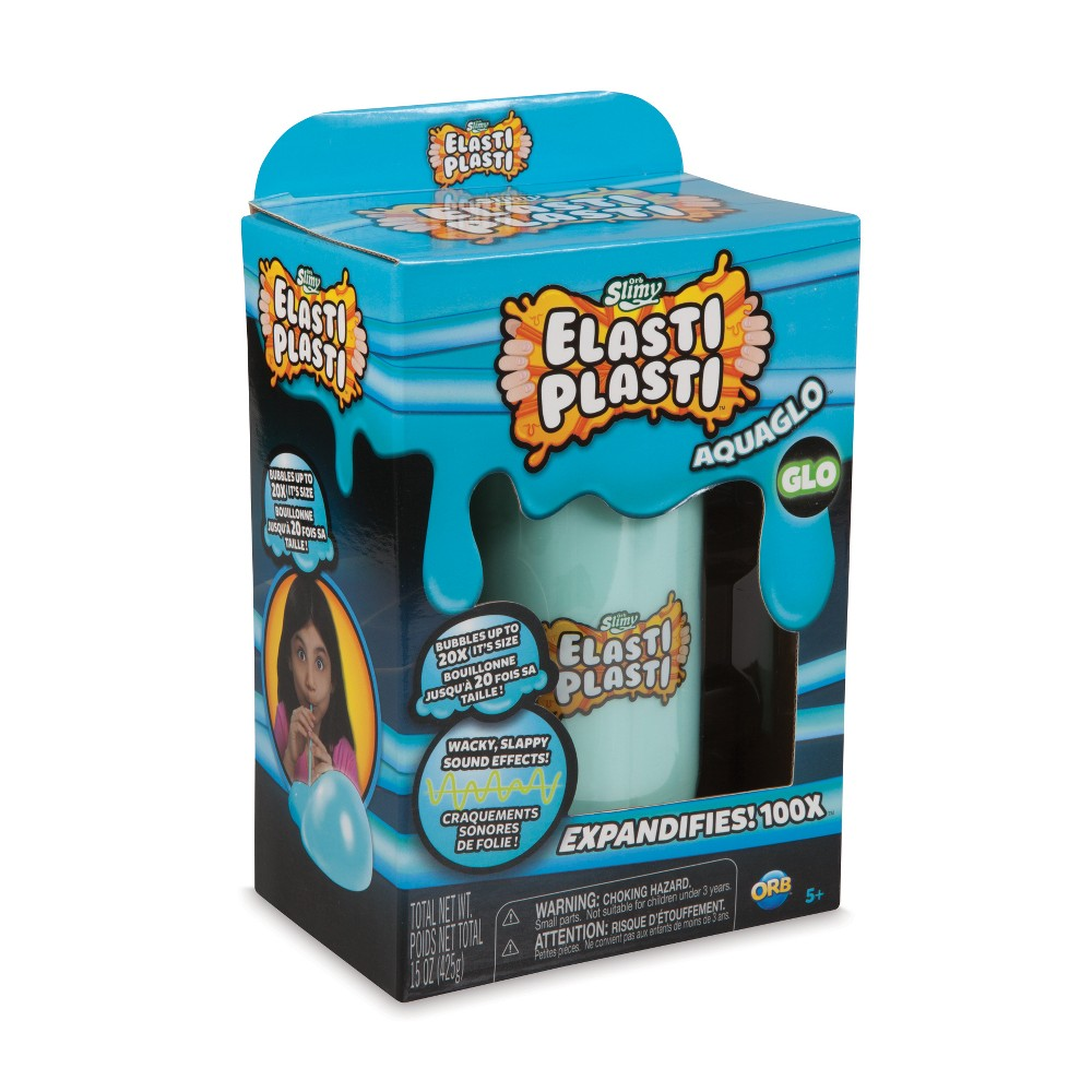 OrbSlimy Elasti Plasti Slime and Putty Aguaglo